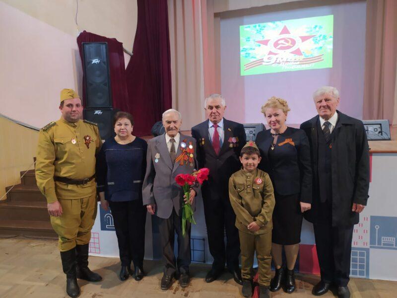 Поздравления ветеранов ВОВ