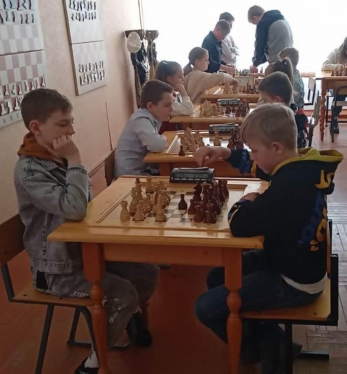 Старт шахматного соревнования ко Дню Победы