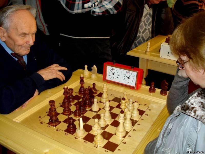 Это всё о них — о шахматах