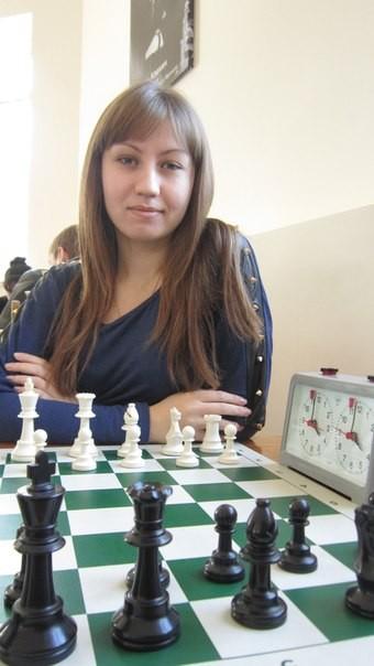 Студентка 1-го курса. Елена Бабкина